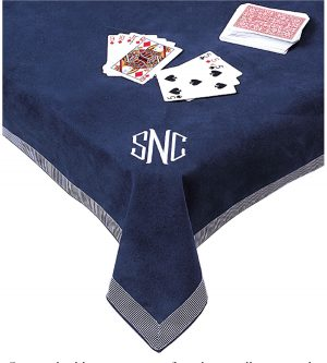Personalized Bridge Card And Table Game Covers Classic