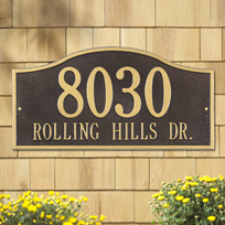 Name and Address Plaques