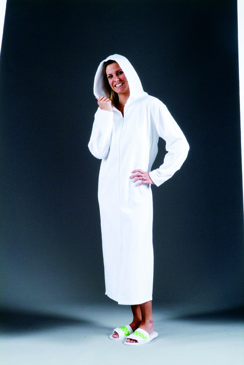 Women S Hooded Terry Cloth Robe Coverup Classic