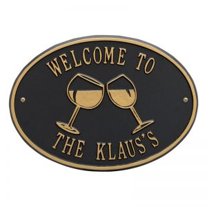 Personalized Home & Man Cave Plaques